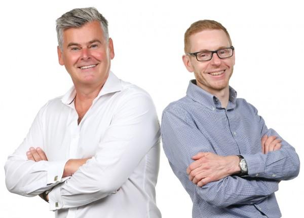 Patrick McGuane and Phil Ellams