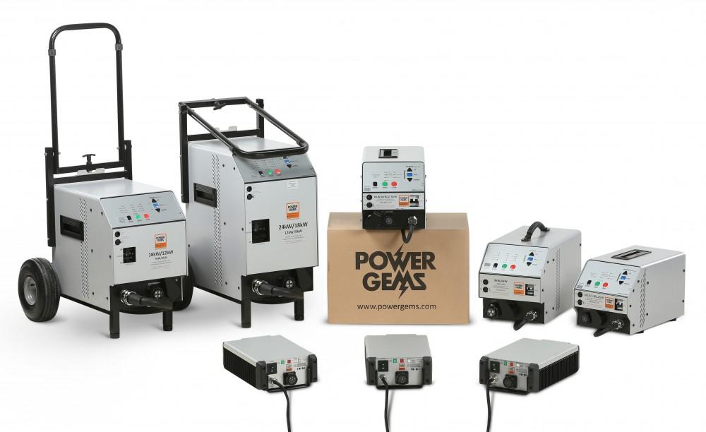 Power Gems range