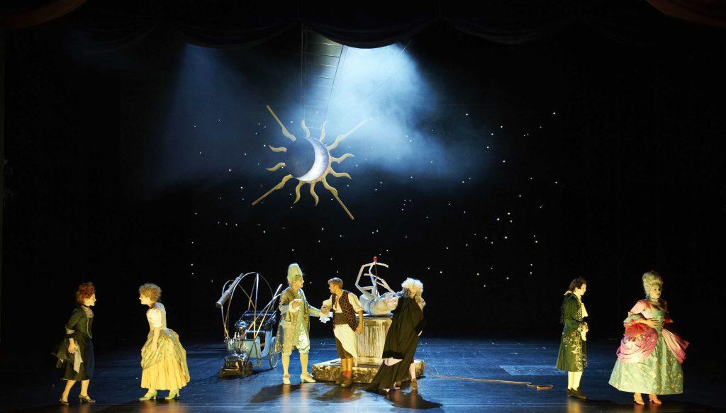 La finta giardiniera Theaterakademie im Prinzregententheater STS Lighting