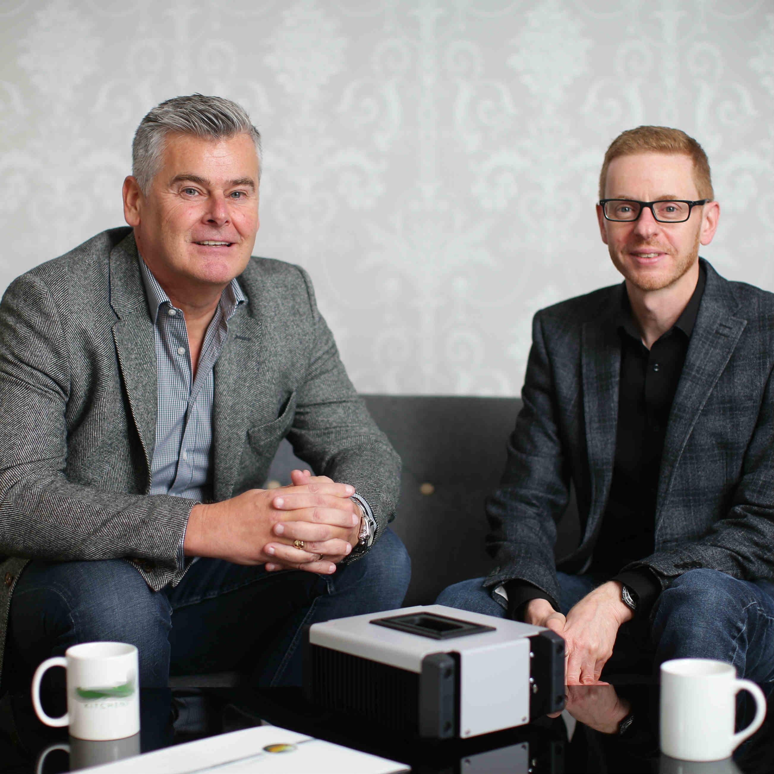 High speed ballast designer and manufacturer Power Gems Patrick McGuane and Phil Ellams