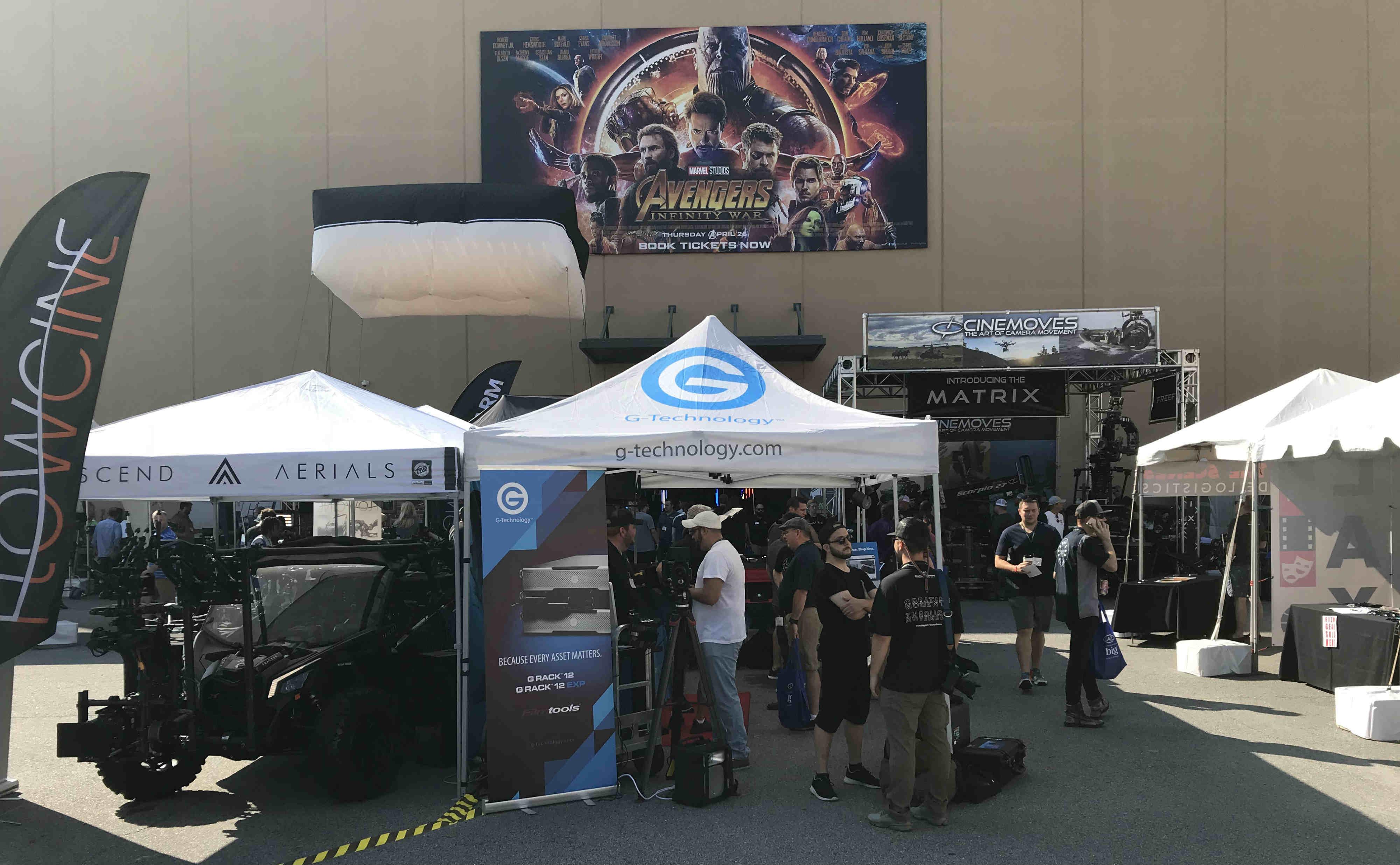 Exhibitors including Power Gems at Cine Gear Atlanta